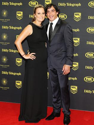 Jonathan Thurston and Samantha Lynch.