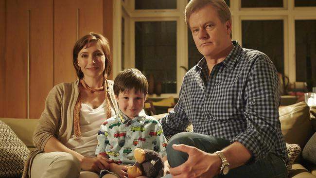 The Time of Our Lives. Caroline (Claudia Karvan), Carmody (Thomas Fisher) and Matt (William McInnes).