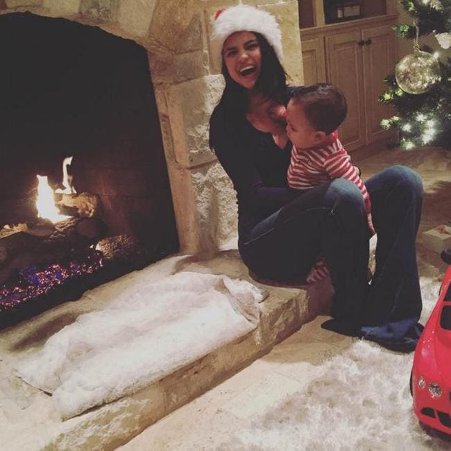 She's a family girl at heart. Selena Gomez is the most followed person on Instagram. Picture: Selena Gomez/Instagram