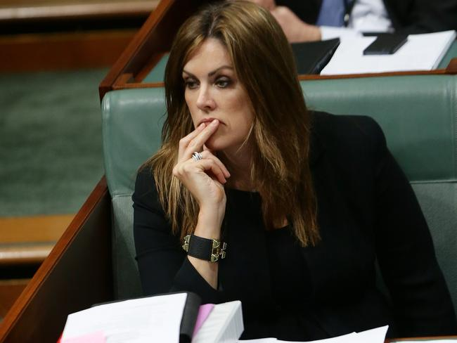 Low blow ... the PM's Chief of Staff Peta Credlin revealed last year she struggled to become pregnant through IVF.