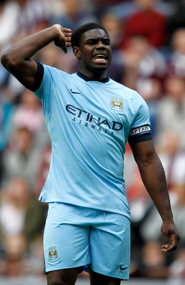 Micah Richards has not had much playing time at Manchester City in recent seasons.