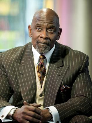 The real Chris Gardner.