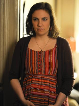 Dunham in the first season of Girls.
