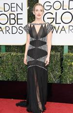 Riley Keough attends the 74th Annual Golden Globe Awards at The Beverly Hilton Hotel on January 8, 2017 in Beverly Hills, California. Picture: Getty