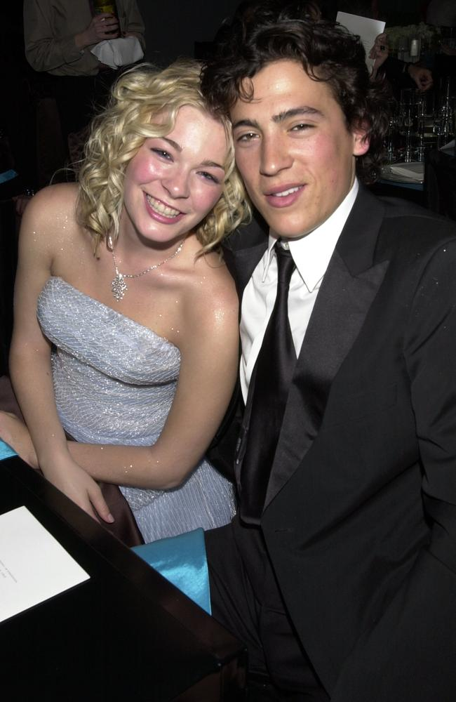 LeAnn Rimes and Andrew Keegan Back in the late 90s and before her scandalous affair with her now-husband Eddie Cibrian, LeAnn Rimes dated former teen hunk Andrew Keegan. Things got serious between the pair and they were reportedly engaged to be married. But the actor allegedly had a fling with actress Piper Perabo, and the baby-faced couple split. Picture: Getty Images