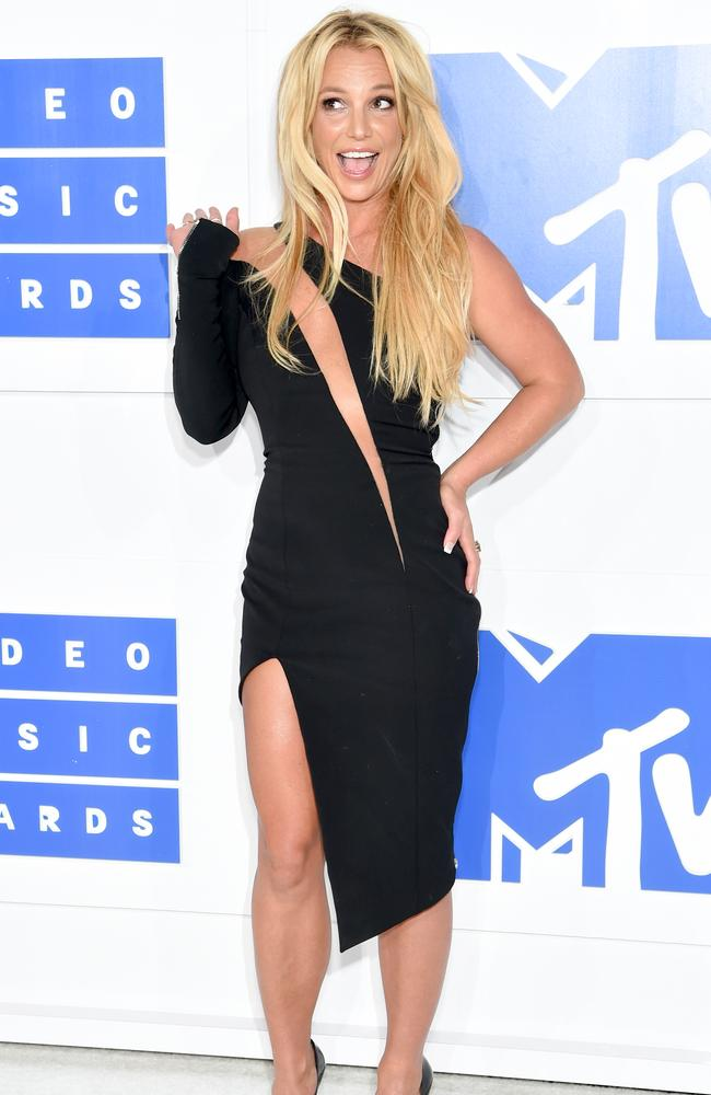 Britney Spears attends the 2016 MTV Video Music Awards at Madison Square Garden on August 28, 2016 in New York City. Picture: Jamie McCarthy/Getty Images