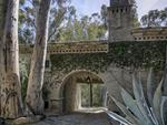 Pictured: Breezeway. Ellen Degeneres lists Santa Barbara house for sale. Picture: Jim Bartsch