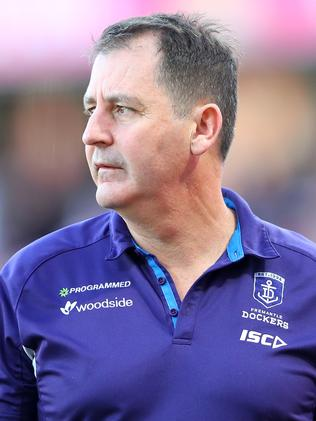 It was a forgettable day for Ross Lyon. Picture: Getty Images