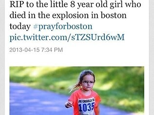 Another fake. This photo was from a 5km charity run in Virginia.