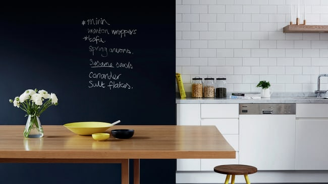 Mustn't forget to buy kale. Photo: HOME Magazine WA 2014.
