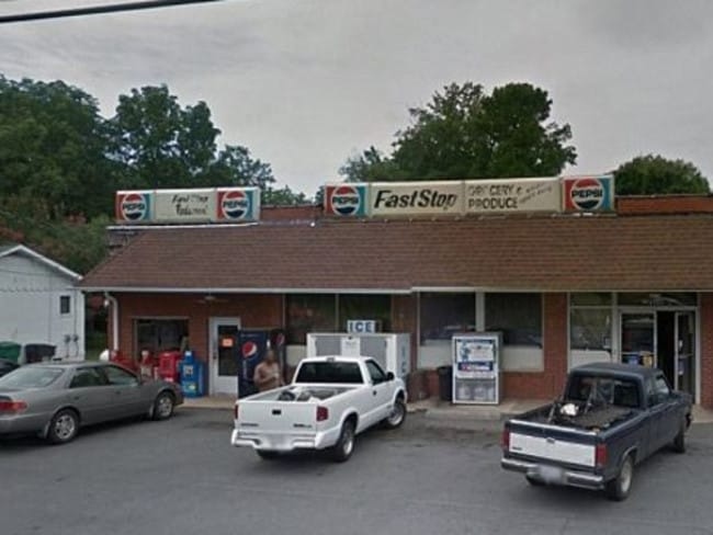 Johnny and Teresa Hatley Fast Stop shop. Picture: Google.