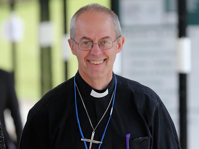 Preacher of change ... the decision to allow female bishops comes after intensive diplomacy by Archbishop of Canterbury, Justin Welby.