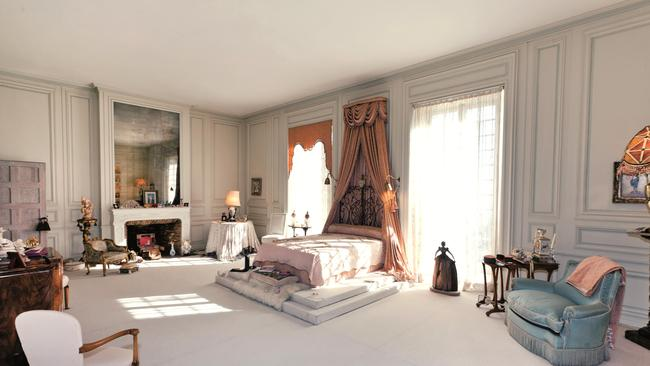 Inside ... The beautiful rooms at the villa built for Coco Chanel. Picture: Knight Frank.