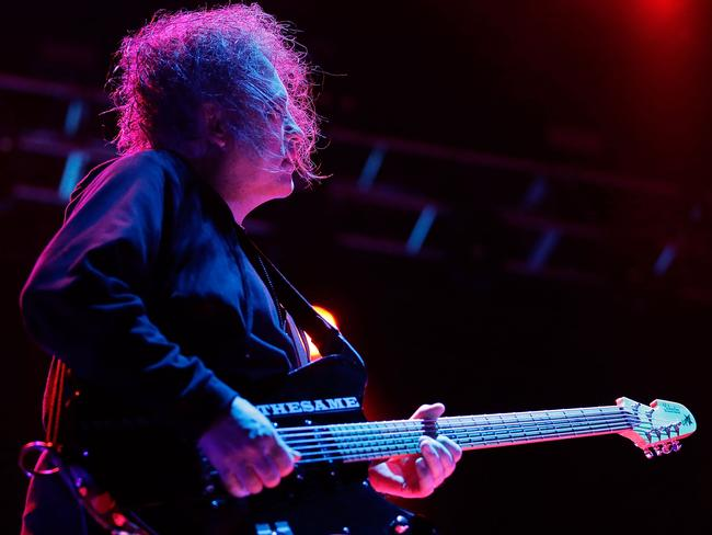 The Cure performs and pushes a lot of nostalgia buttons for Aussie fans. Picture: Getty