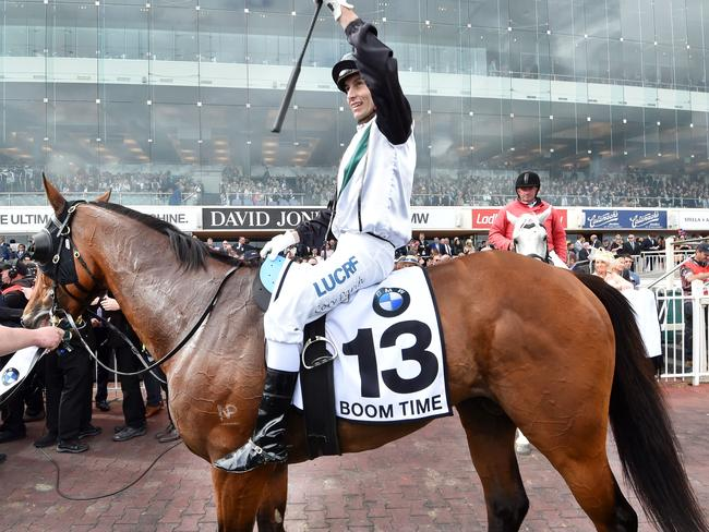 Boom Time wants to carry his Caulfield Cup form into Tuesday.