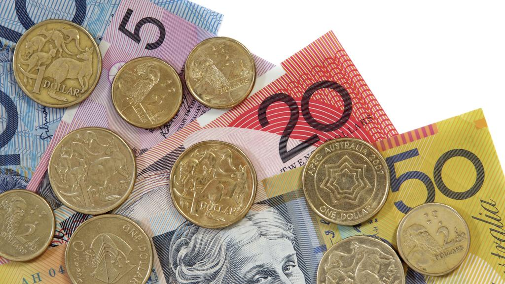 The Australia dollar also rose against the yen and the euro.