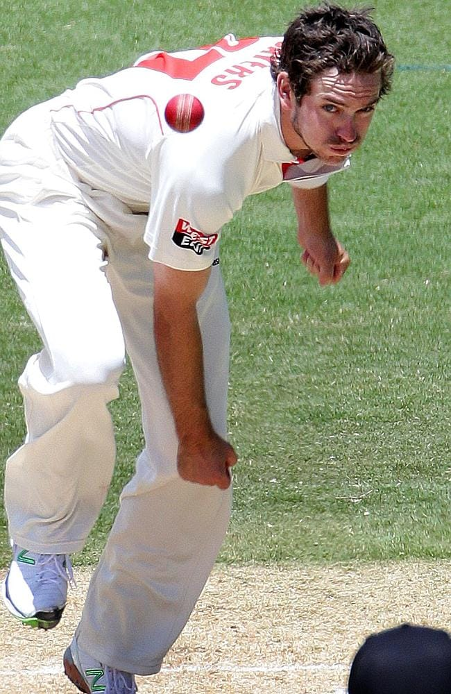 Chadd Sayers finished with figures of 4-118 to lead a brief fightback for South Australia.