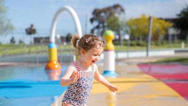 Casey Race Myuna Farm Doveton Pool In The Park Cranbourne Botanic Gardens Provide Cool Summer