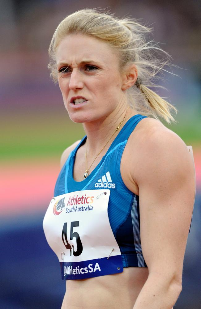 Sally Pearson starts the defence of her 100m hurdles title on Friday morning AEST.