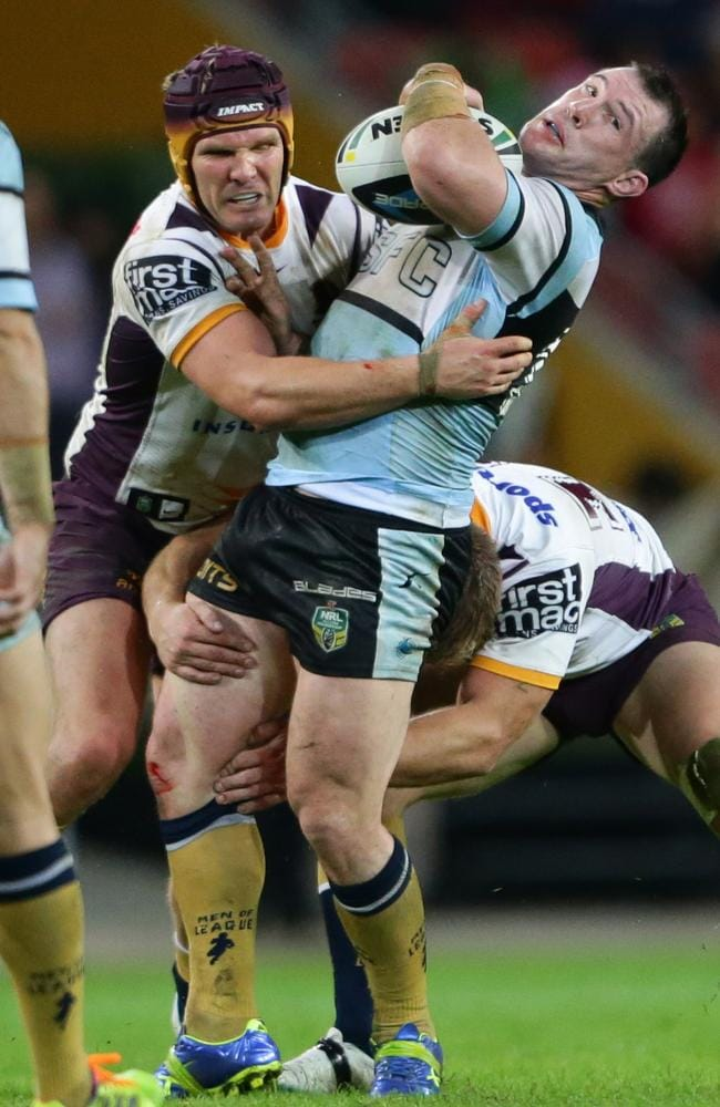 Paul Gallen will return for the Sharks. Picture: Darren England