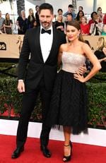 Joe Manganiello and Sofia Vergara attend The 23rd Annual Screen Actors Guild Awards at The Shrine Auditorium on January 29, 2017 in Los Angeles, California. Picture: Getty