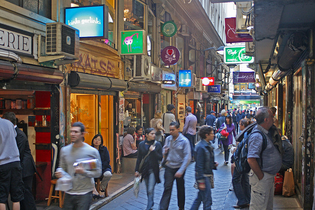 Melbourne laneway | Image by Leigh Marriner on Flickr | Creative Commons