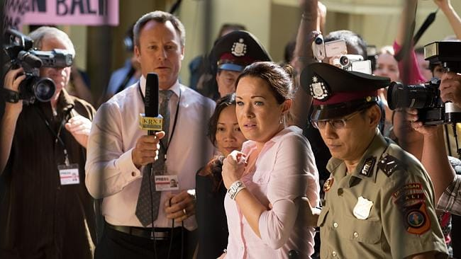 Krew Boylan will play convicted drug smuggler Schapelle Corby in the Channel 9 telemovie Schapelle. Picture: Channel 9