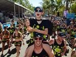 Hundreds take part in the People's Choice Undies Run for bowel cancer. Picture: Tom Huntley