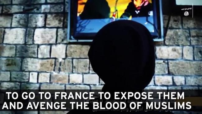 The propaganda video would be used to lure IS recruits from France.