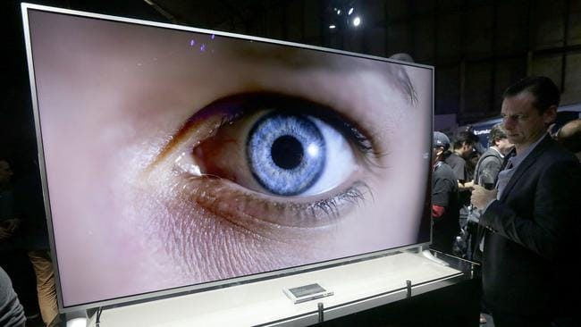 A LeEco uMax 85 TV. Picture: Jeff Chiu/AP