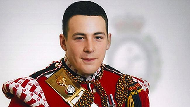 epa03784206 (FILE) An undated handout file photograph released by the British Ministry of Defence on 23 May 2013 shows Drummer Lee Rigby, 2nd Battalion The Royal Regiment of Fusiliers. A vigil was held 11 July for British Fusilier Lee Rigby, who was brutally murdered by suspected Muslim extremists in May 2013, ahead of his funeral on 12 July. EPA/MINISTRY OF DEFENCE / HANDOUT MANDATORY CREDIT; CROWN COPYRIGHT HANDOUT EDITORIAL USE ONLY/NO SALES *** Local Caption *** 50842562