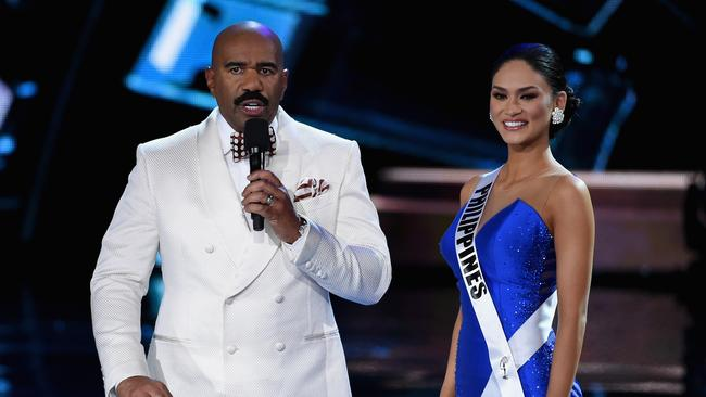 Make amends ... Miss Universe organisers says Steve Harvey deserves a chance to redeem himself.