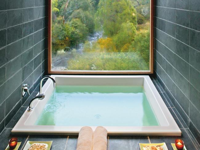Baths can use up to 100 litres of hot water so should be used sparingly compared with showers which can be restricted to 30 litres. Picture: George Apostolidis.