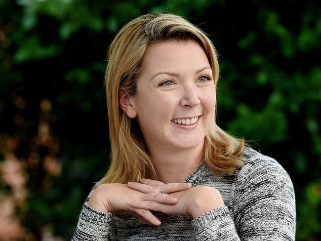 Barring an unexpected swing away from the party in the final vote count, Skye Kakoschke-Moore will become the NXT's third South Australian senator. Picture: Roy Van Der Vegt