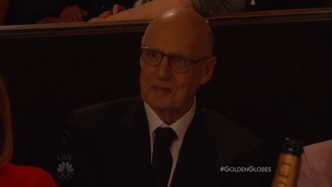 A slightly nervous-looking Jeffrey Tambor.