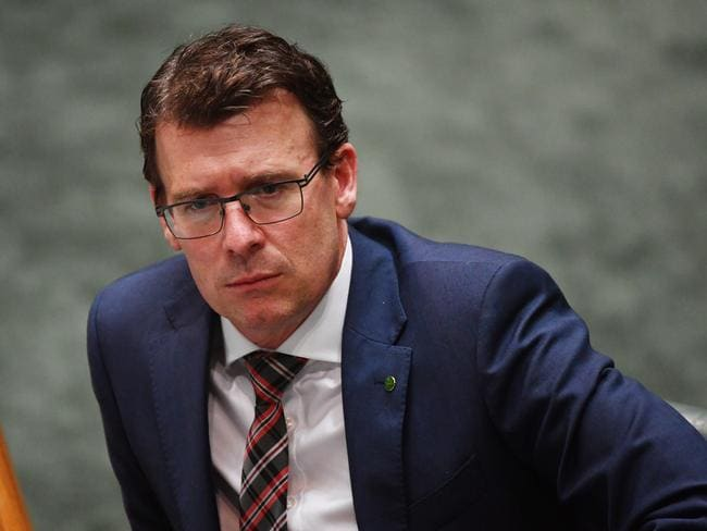Minister for Human Services Alan Tudge. Picture: AAP
