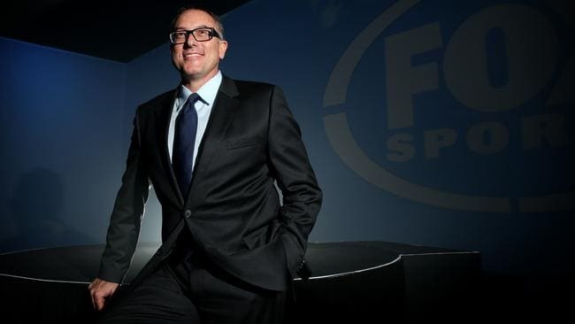 Fox Sports CEO Patrick Delany lands at No.4.