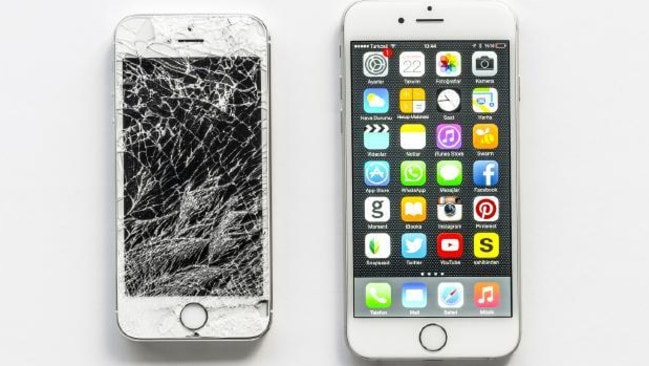 One of the most common issues with the iPhone might have just gotten more expensive to fix. Source: Supplied