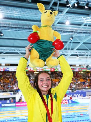 Happy and victorious ... Maddison Elliott