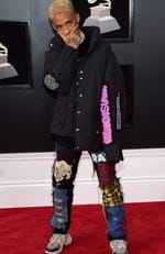 Recording artist-actor Jaden Smith attends the 60th Annual GRAMMY Awards at Madison Square Garden on January 28, 2018 in New York City. Picture: Jamie McCarthy/Getty Images