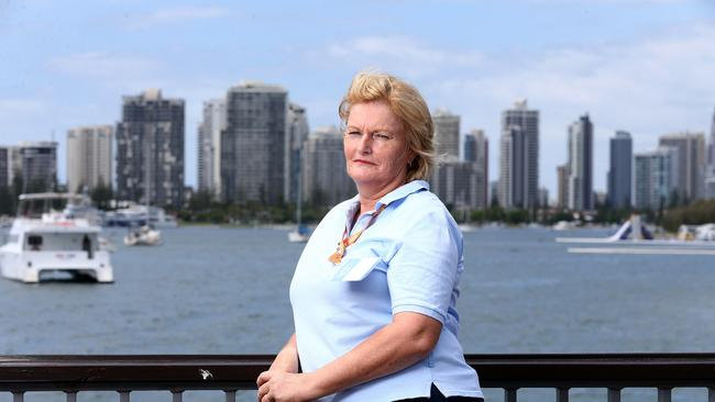 Volunteer Liz McCleary says political correctness is ruining the spirit of the Commonwealth Games. Source: Adam Head/News Corp Australia.
