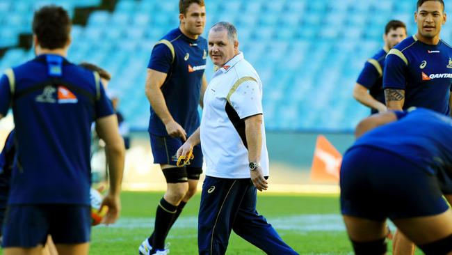 Ewen McKenzie is riding a seven-match winning streak with the Wallabies.