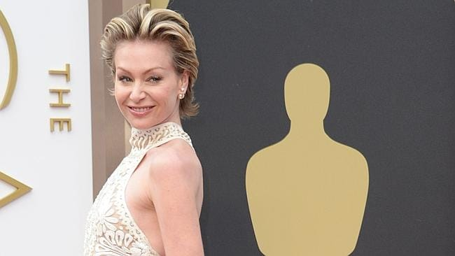 Portia de Rossi arrives on the red carpet for the 86th Academy Awards.