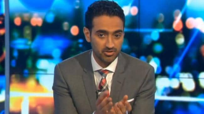 Waleed Aly ... The Project host has implored people to stop unwittingly 'helping ISIL'. Picture: The Project/TEN