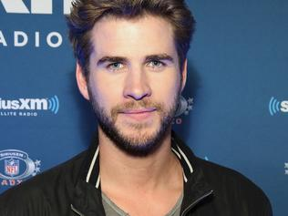 SAN FRANCISCO, CA - FEBRUARY 04: Actor Liam Hemsworth visits the SiriusXM set at Super Bowl 50 Radio Row at the Moscone Center on February 4, 2016 in San Francisco, California. (Photo by Cindy Ord/Getty Images for SiriusXM)