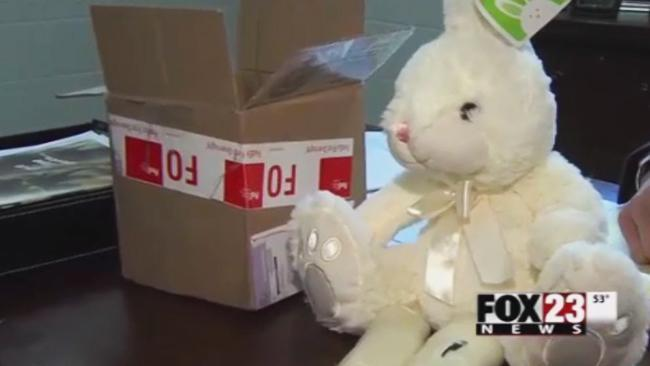 Oklahoma police find meth haul inside toy Easter bunny ...