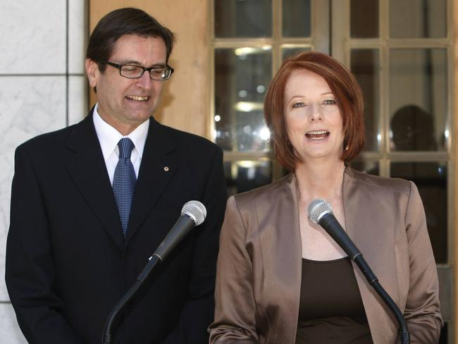 Job could have been his: Julia Gillard offered to support Greg Combet as leader.