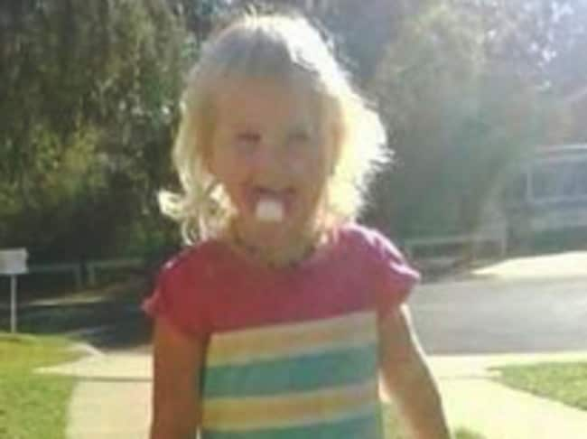 Nikki Francis-Coslovich died when she was just aged 2.