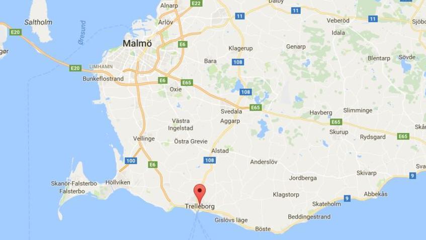Trelleborg Shootings At Market In Sweden - Sweden map google