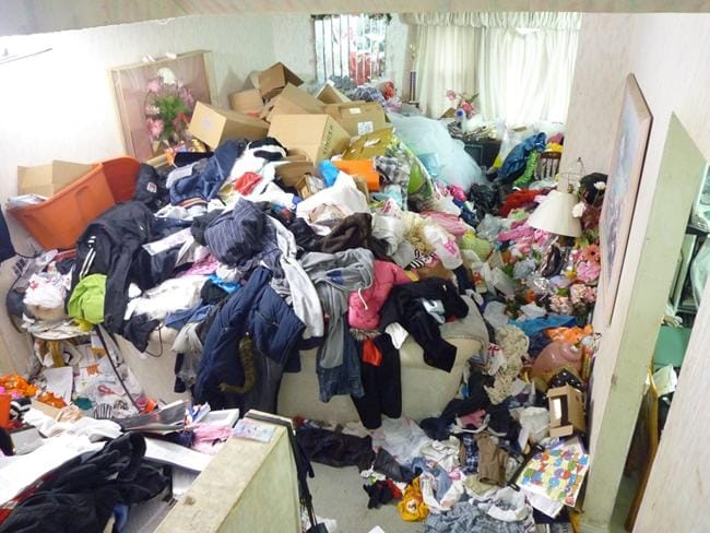 What living as a hoarder is like